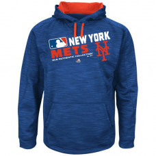Mets Team Choice Streak Royal Authentic Collection Hoodie