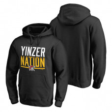 Pittsburgh Pirates Hometown Collection Yinzer Nation Pullover Black Hoodie