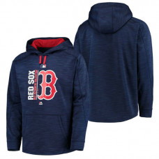Red Sox Authentic Collection Team Icon Streak Fleece Navy Pullover Hoodie