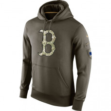 Boston Red Sox Salute To Service Olive Hoodie