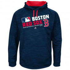 Red Sox Team Choice Streak Navy Authentic Collection Hoodie