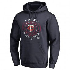 Twins Firefighter Navy Pullover Hoodie