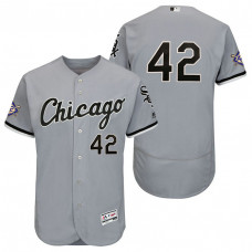 Chicago White Sox Gray Authentic Flex Base Jersey 2018 Jackie Robinson Day