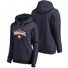 WOMEN - Houston Astros 2017 AL West Division Champions Assist Pullover Navy Hoodie