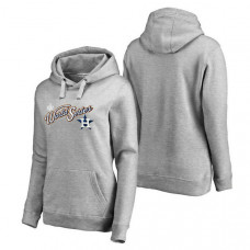 WOMEN - Houston Astros 2017 World Series Bound Pullover Heather Gray Hoodie