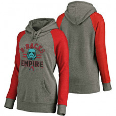 WOMEN - Arizona Diamondbacks Heather Gray Star Wars Empire hoodie