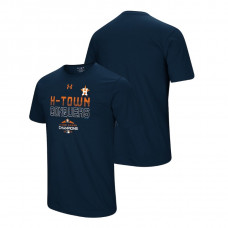 Houston Astros Conquer Navy 2018 AL West Division Champions Under Armour T-Shirt