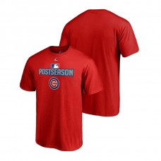 Chicago Cubs Deck Red Majestic Big & Tall T-Shirt