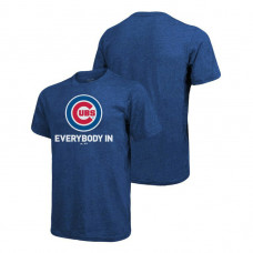 Chicago Cubs Majestic Threads Royal Everybody In Big & Tall T-Shirt