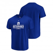Los Angeles Dodgers Authentic Collection Royal Majestic Big & Tall T-Shirt