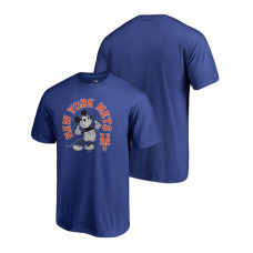 New York Mets Fanatics Branded Royal Disney Mickey's True Original Arch T-Shirt