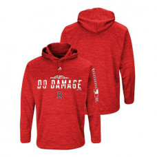 Boston Red Sox Streak Fleece Red Authentic Collection Hoodie