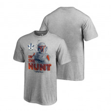 YOUTH Houston Astros Star Wars In The Hunt Heather Gray Fanatics Branded T-Shirt