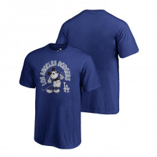 YOUTH Los Angeles Dodgers Fanatics Branded Royal Disney Mickey's True Original Arch T-Shirt