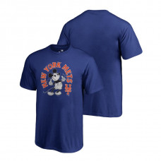 YOUTH New York Mets Fanatics Branded Royal Disney Mickey's True Original Arch T-Shirt