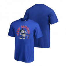 YOUTH Texas Rangers Fanatics Branded Royal Disney Mickey's True Original Arch T-Shirt