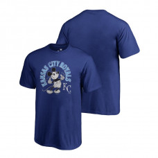 YOUTH Kansas City Royals Fanatics Branded Royal Disney Mickey's True Original Arch T-Shirt