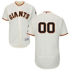 Custom San Francisco Giants Cream Flexbase Authentic Collection Jersey