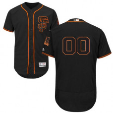 Custom San Francisco Giants Black Flexbase Authentic Collection Jersey