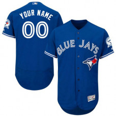 Custom Toronto Blue Jays Royal Blue Flexbase Authentic Collection Jersey