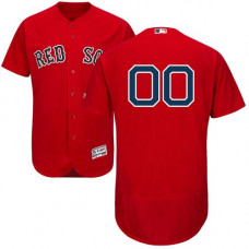 Custom Boston Red Sox Red Flexbase Authentic Collection Jersey