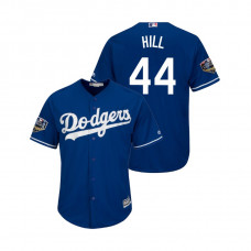 Los Angeles Dodgers Royal #44 Rich Hill Cool Base Jersey 2018 World Series