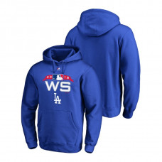 Los Angeles Dodgers Authentic Collection Royal Bound Big & Tall Hoodie 2018 World Series