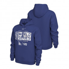 Los Angeles Dodgers Nike Royal Bound Big & Tall Hoodie 2018 World Series