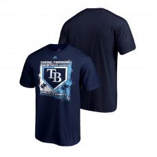 Tampa Bay Rays Base on Balls Navy Grapefruit League T-Shirt 2019 Spring Training