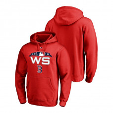 Boston Red Sox Authentic Collection Red Bound Big & Tall Hoodie 2018 World Series