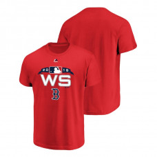 Boston Red Sox Authentic Collection Red Bound Majestic T-Shirt 2018 World Series