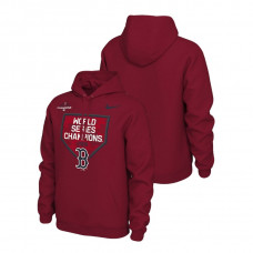 Boston Red Sox Celebration Red Nike Hoodie 2018 World Series Champions