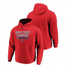 Boston Red Sox Clear Sign Red Under Armour Hoodie 2018 World Series Champions